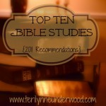 Top Ten Bible Studies {2011 Recommendations}
