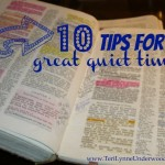 10 Tips for a Great Quiet Time