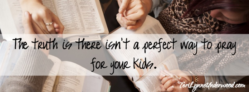 parent with prayer