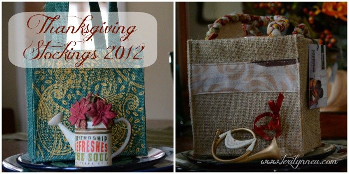 Thanksgiving Stockings 2012 www.terilynneunderwood.com