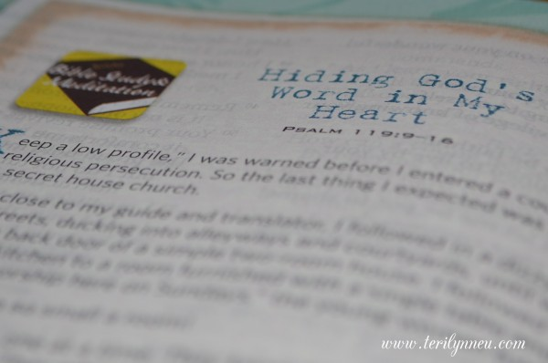everyday matters bible for women features www.terilynneunderwood.com