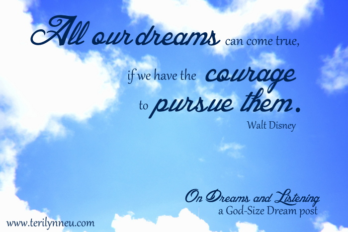 Dreams and Courage