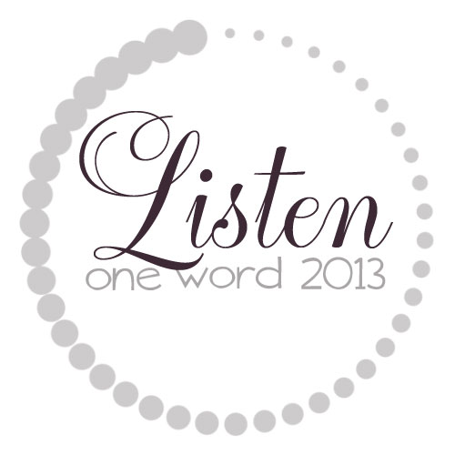 One Word Listen Post Image