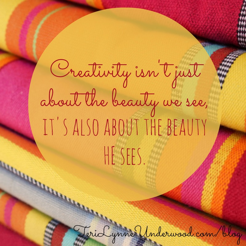 encourage creativity in yourself    31 Days of Living Well    TeriLynneUnderwood.com