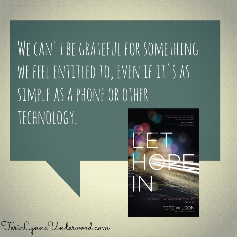 Review of Let Hope In by Pete Wilson || TeriLynneUnderwood.com