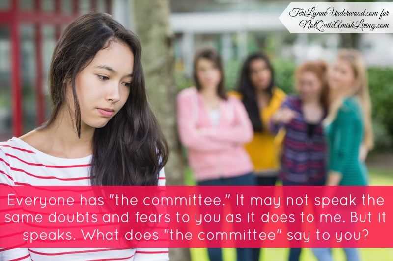 "What does ""the committee"" say to you?"