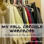 Fall Capsule Wardrobe || TeriLynneUnderwood.com