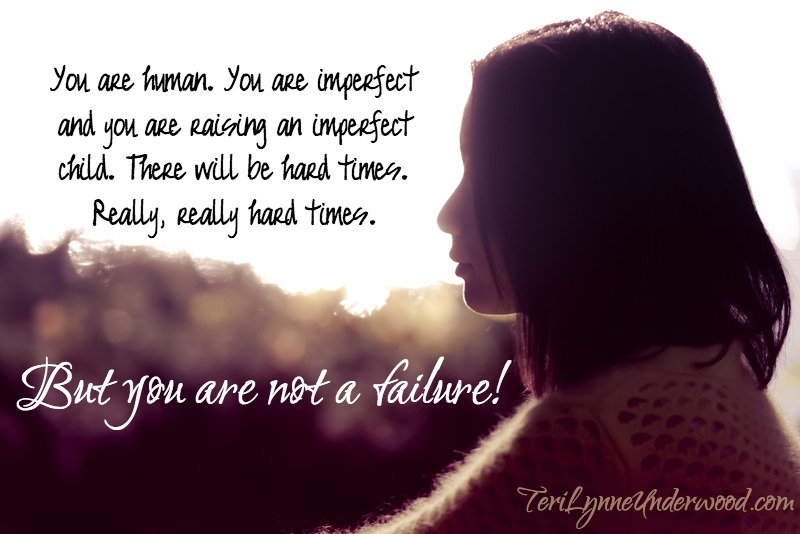 """when the enemy whispers, """"failure"""" into your spirit, know the truth: you are not a failure!"""