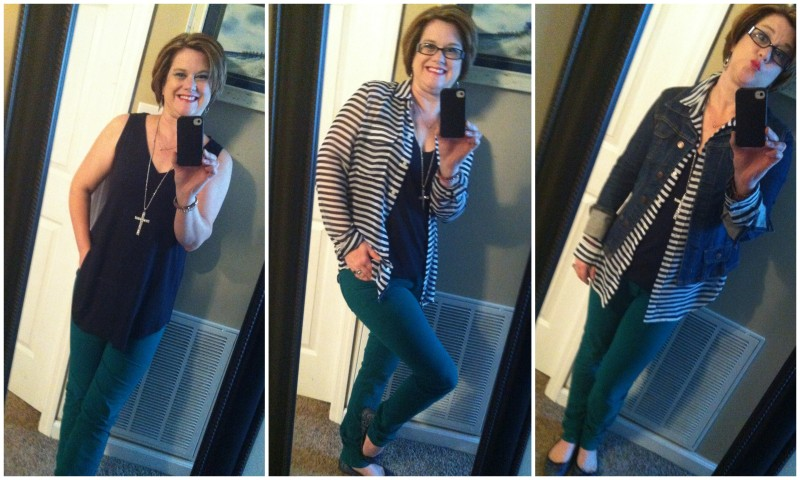 building outfits with fall capsule wardrobe