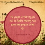 #PrayersforGirls based on Obadiah 1:3 ... TeriLynneUnderwood.com
