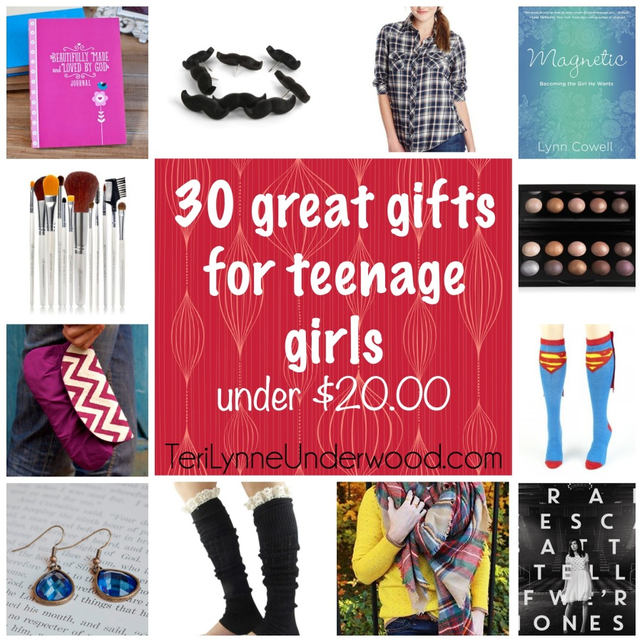 30 great gifts for teenage girls