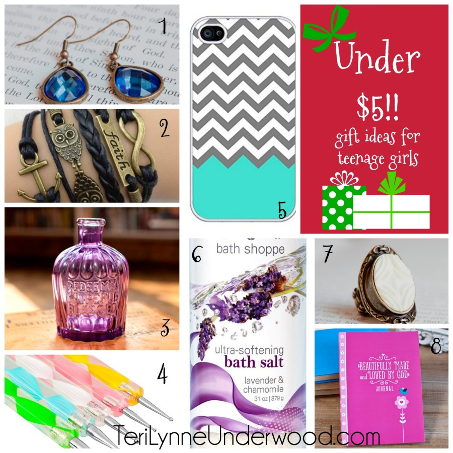 gift ideas for teenage girls under 5