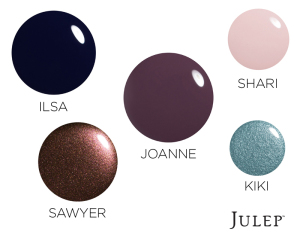 Trending Nail Polish Colors Winter 2014 {from JULEP}