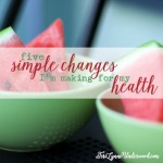 5 simple changes square