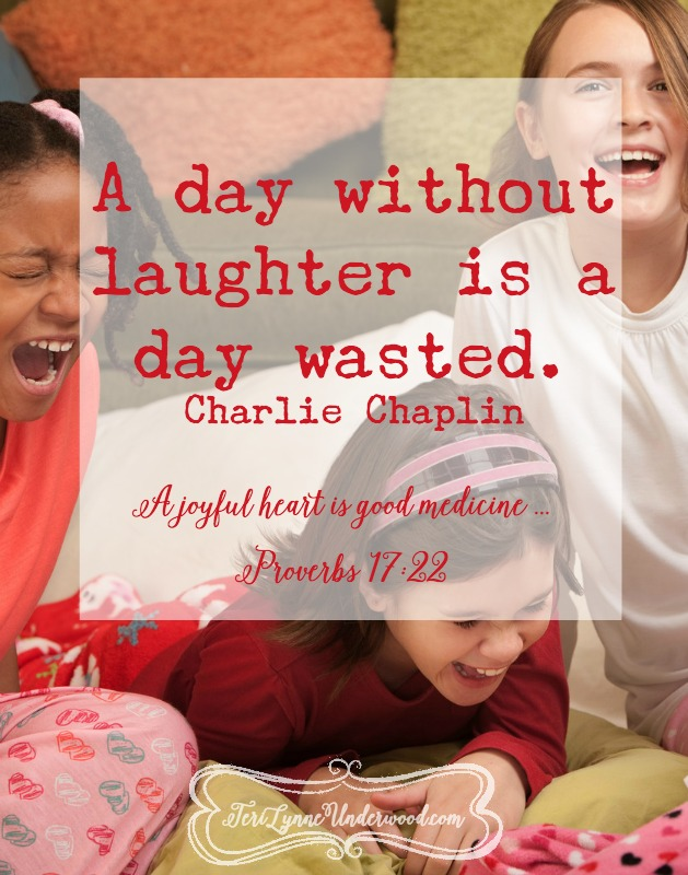 what if we we laugh more {10 ways to live well in today's world}