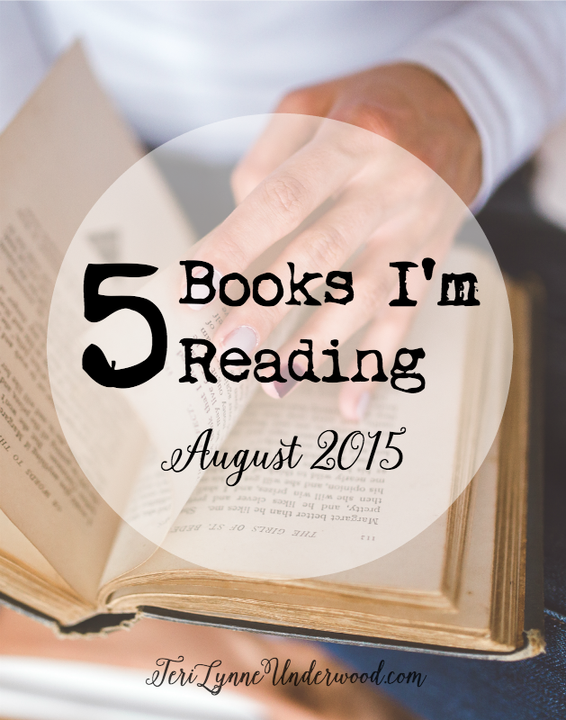 Looking for a good book? These are the 5 I'm currently reading.