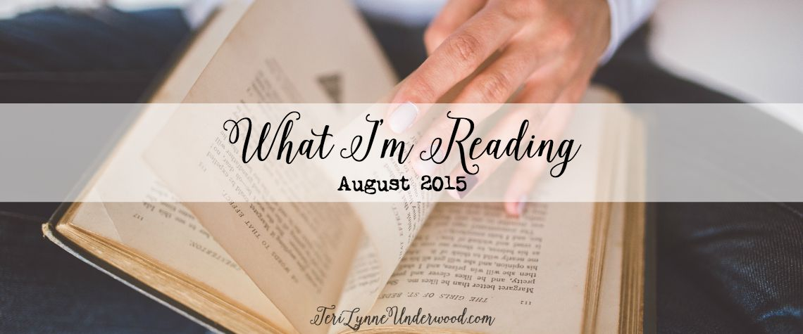 What I'm Reading {August 2015}