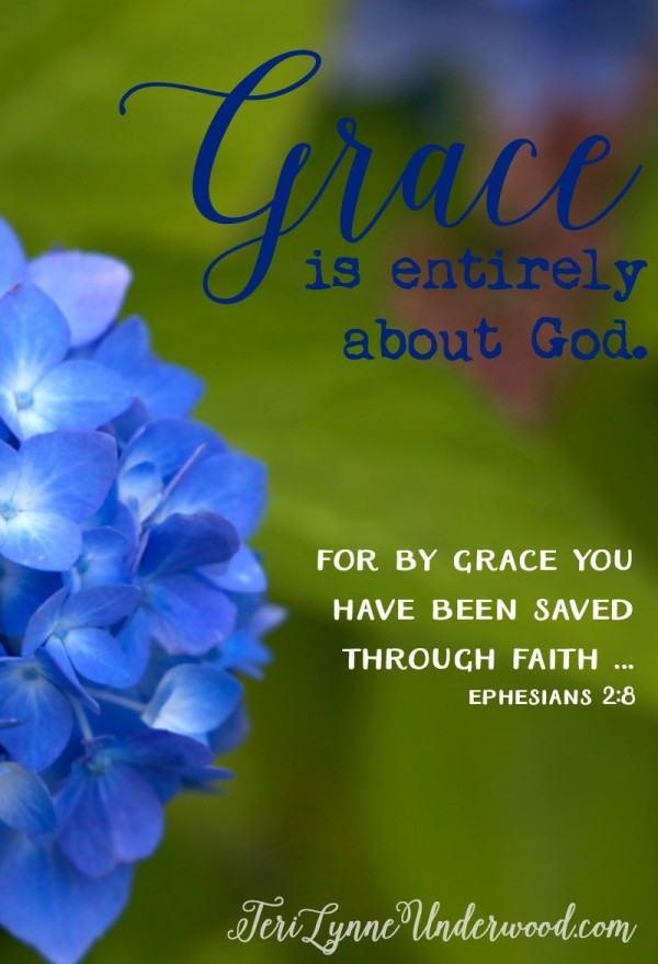 Grace is entirely about God and His love. But somehow, though we have been given such great grace so freely, we are stingy with it. We demand grace be given according to our need and yet we resist offering that same grace to others.