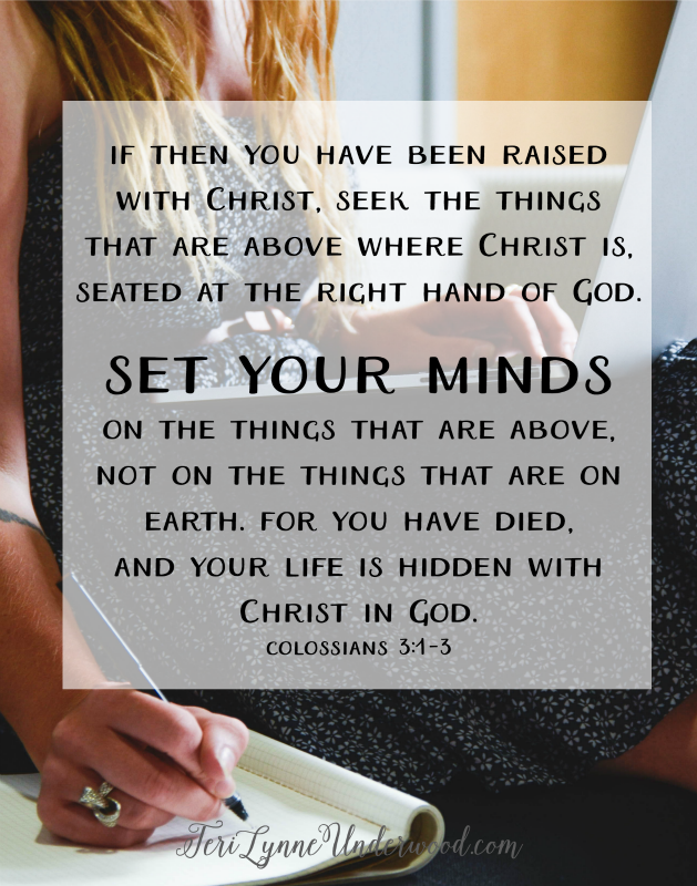 Colossians 3:1-3