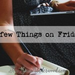 A Few Things on Friday the 13th