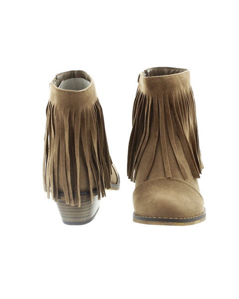 fringe booties are all the rage ... does your girl want some for Christmas?