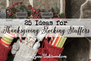 25 Ideas for Thanksgiving Stocking Stuffers