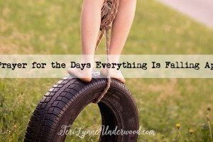 A Prayer for the Days Everything Is Falling Apart