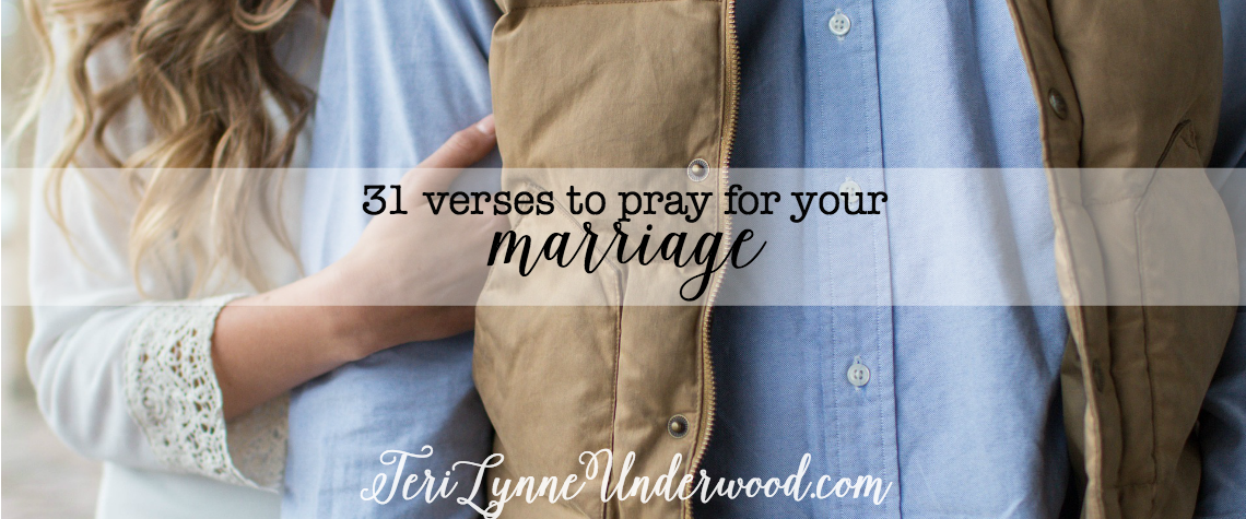 #MarriagePrayers: 31 Verses to Pray for Your Marriage