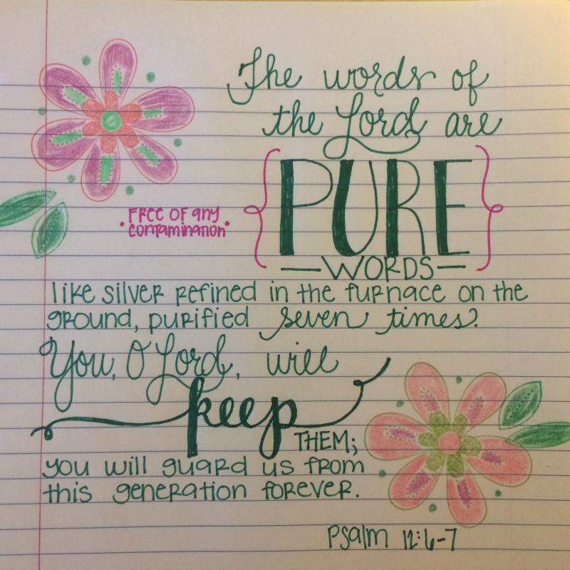 Psalm 12:6-7
