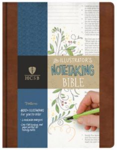 Review of the HCSB Illustrator's Notetaking BIble