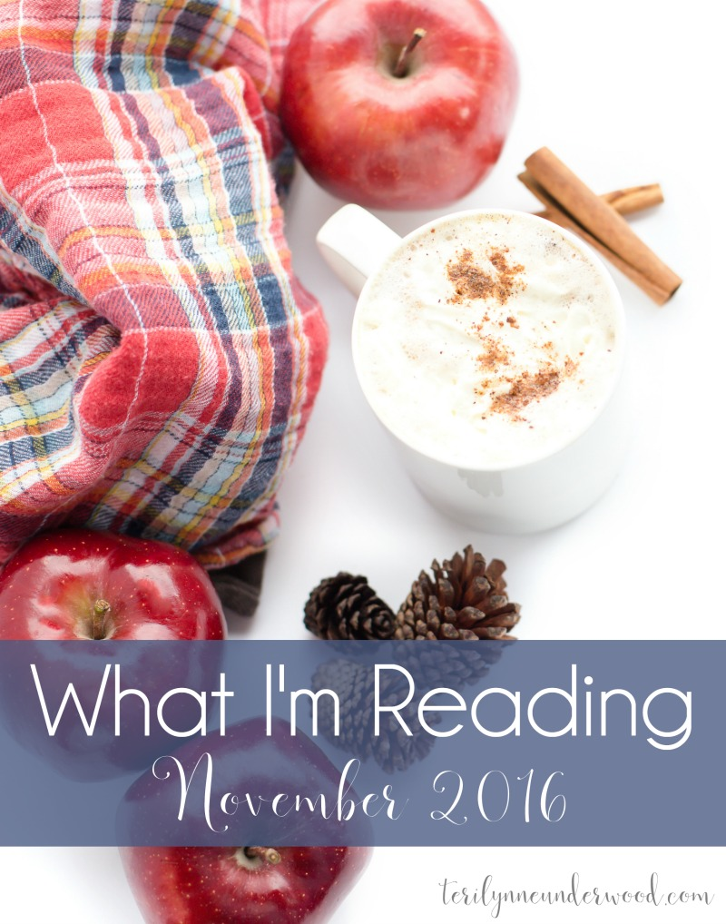 What I'm Reading || November 2016 ... books from Ann Voskamp, Lisa Whittle, Jennifer Rothschild, and more.