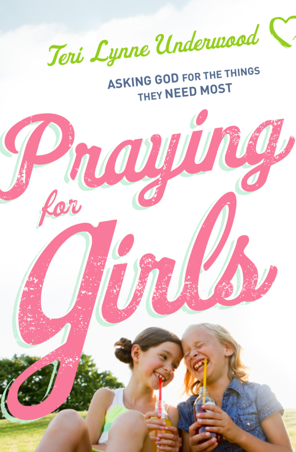 Praying for Girls: Asking God for the Things They Need Most will release July 18, 2017. With a blend of storytelling and biblical teaching, 200 Scripture-based prayers, encouragement for moms, and fun ways to share what you are praying with your daughter (no matter if she's 2 or 18), this book will inspire and encourage girl moms to dig deep in prayer for the girls they love.