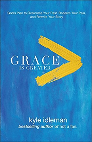 "In ""Grace Is Greater,"" Kyle Idleman's forthright discussion of forgiveness, gratitude, redemption, surrender, and more offer those of us who want to walk in the fullness of God's grace a path to understanding not only what this means but also what it looks like."