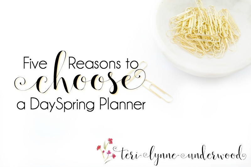 5 Reasons to Choose DaySpring Planners