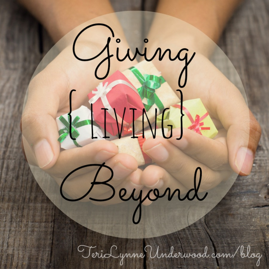 Giving {Living} Beyond:  Samaritan's Purse