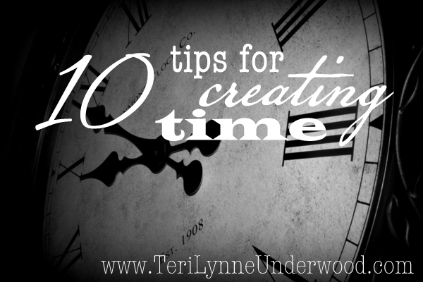 Creating Time? 10 Simple Ideas