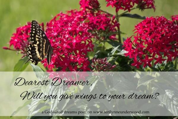 Dearest Dreamer … {a God-sized dreams post}