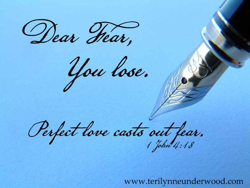 Dear Fear, You Lose. {a God-sized dreams post}
