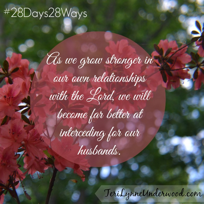 28 Days, 28 Ways: Pray for His Wife