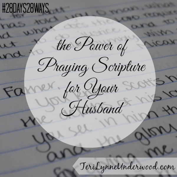 28 Days, 28 Ways: Scripture-Based Prayers