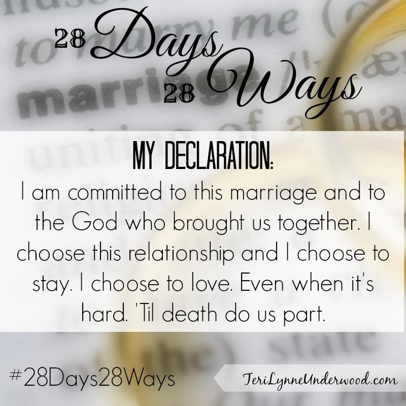 28 Days, 28 Ways: Commit
