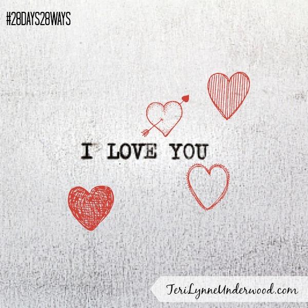 28 Days, 28 Ways: Write a Love Note