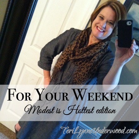 For Your Weekend {modest is hottest edition}