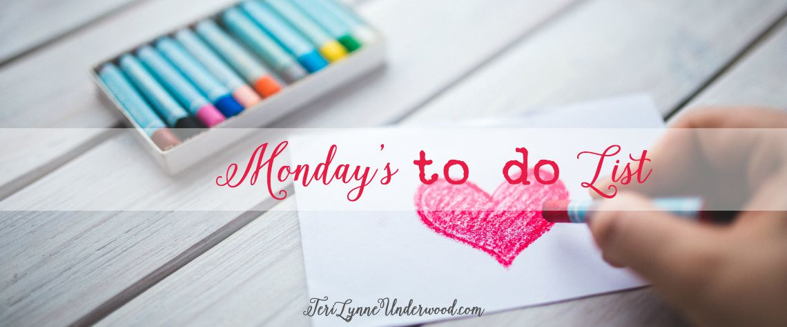Monday's To Do List