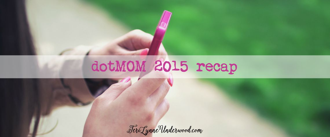 So I went to dotMOM this past weekend …