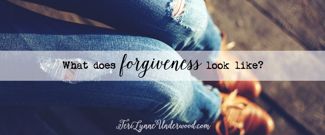 What Does Forgiveness Look Like?