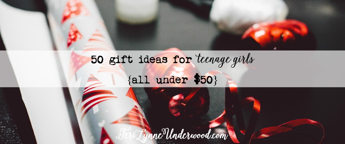 50 Gifts for Teenage Girls {$50 and Under}