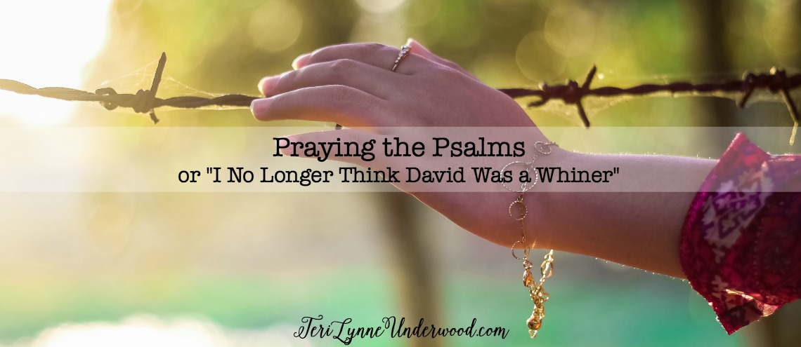 "Praying the Psalms {or ""I No Longer Think David Was a Whiner""}"