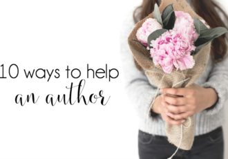 10 Ways to Help an Author