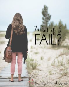 "When we get caught up in thinking, ""What if I fail?"" we need to reminded our job is obedience. God handles the results."